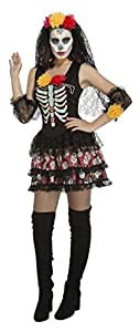 My Other Me Me-204050 Disfraz Sugarskull para mujer XL Viving Costumes 204050