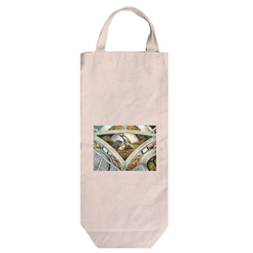 David Und Goliath (Michelangelo) Cotton Canvas Wine Bag Tote With (David Goliath Bags)