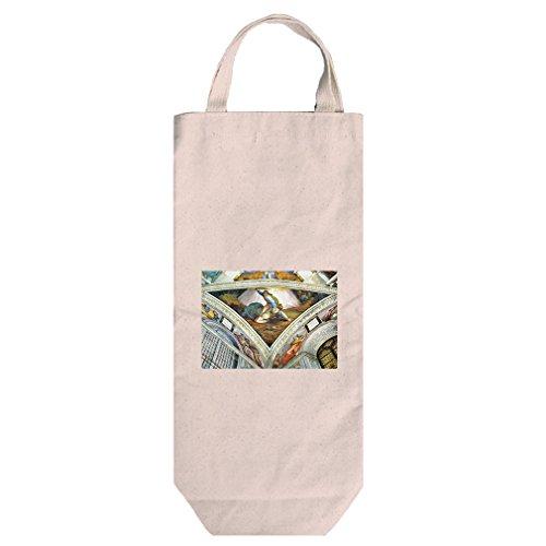 David Und Goliath (Michelangelo) Cotton Canvas Wine Bag Tote With (David Goliath Bags)