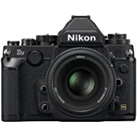 Nikon digital SLR camera Df 50 mm f/1.8G Special Edition Kit Black DFLKBK