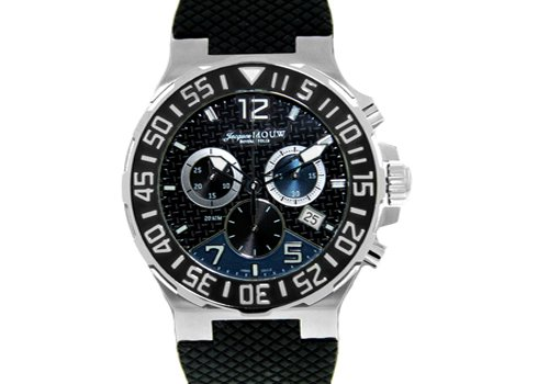 Swiss Chronograph Watch by Jacques Mouw - Beverly Hills Quartz
