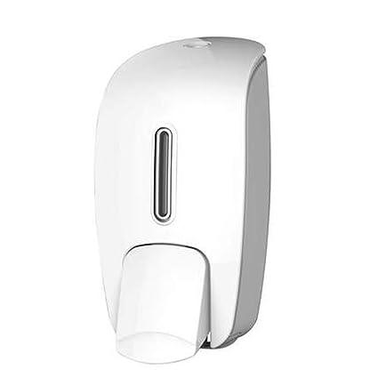 TYXLZH Dispensador De Jabón Manual Montado En La Pared Hotel Champú Botella Ducha Gel WC Gratis