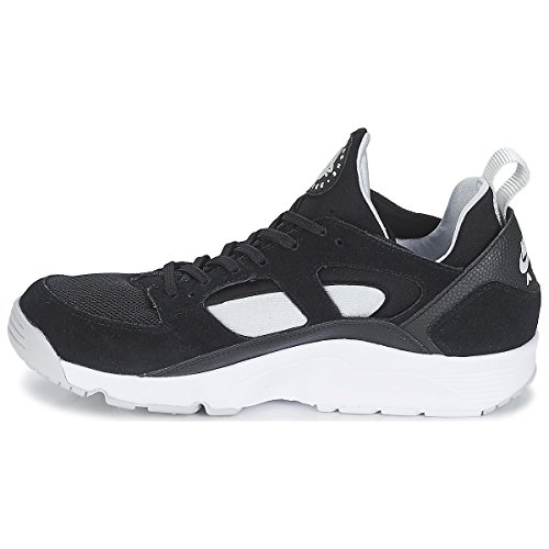 Nike Herren Air Trainer Huarache Lo Prm Turnschuhe Black (Black (Schwarz / Pure Platinum-weiß))