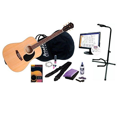 "Arcadia DL41NA PPK 41"" Full-Size Dreadnaught Acoustic Guitar"