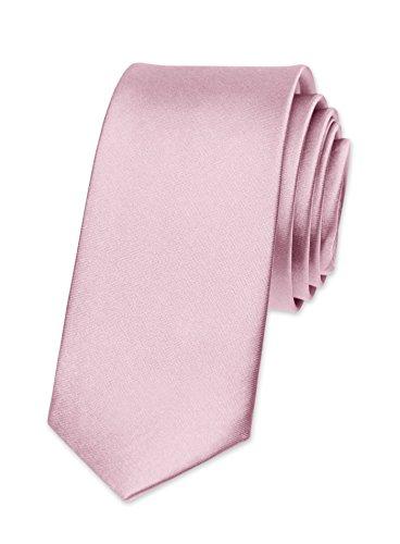 Wedding Confirmation Tie men Tie Narrow Retro Pink for pink Business Slim Tie Light qZEwaIxnx