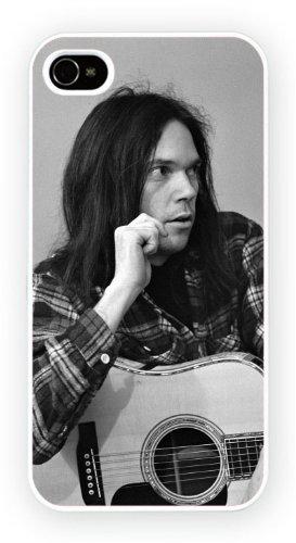 Neil Young, iPhone 5 5S, Etui de téléphone mobile - encre brillant impression