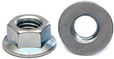 Flange Serrated Hexagon Nuts Stainless Steel A4 Marine Grade Metric Din 6923