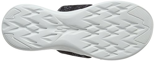 Skechers Sandale Pour Femmes 600-monarch On-the-go Noir / Blanc