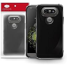 BendyFlex Black Gel Case Skin TPU Cover For 2016 LG G5 Smartphone