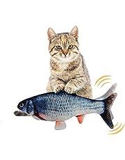 EKKONG Catnip Giocattoli per Gatti, Giocattoli Elettrici per Pesci,Catnip Giocattoli,Giocattolo interattivo Gatto,Simulazione Peluche di Pesce, Giocattoli per Gatto per Gatto Kitty (Type D)