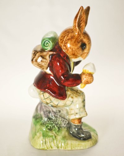 """1972 - Royal Doulton & Co Limited - Billie Bunnykins - """"Cooling Off"""" Figurine - DB3 - 4 Inches Tall - Made in England - Very Rare - Mint - Collectible"""