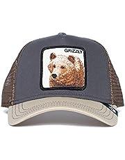Goorin Bros. 'Big Grizz' Animal Farm Trucker Snap Back Baseball Hat Grey