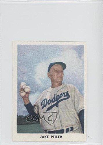 Jake Pitler (Baseball Card) 1955 Golden Stamps Brooklyn Dodgers - [Base] #JAPI 1955 Golden Stamp