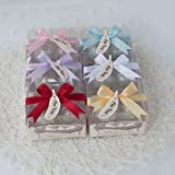 BST Wedding Favors Practical Kitchen Favor Kissing Birds Salt And Pepper Shakers Set With Multicolored Ribbon Options