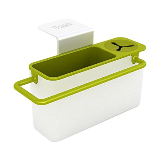 Joseph Joseph Sink Aid Self-Draining Sink Caddy, White