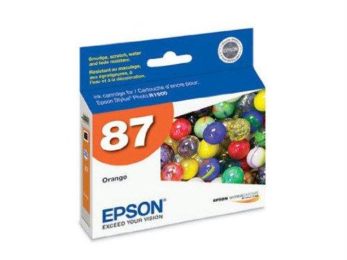 (Epson Epson R1900 - Ink Cartridge - Orange - Epson Stylus Photo R1900 Printer - By