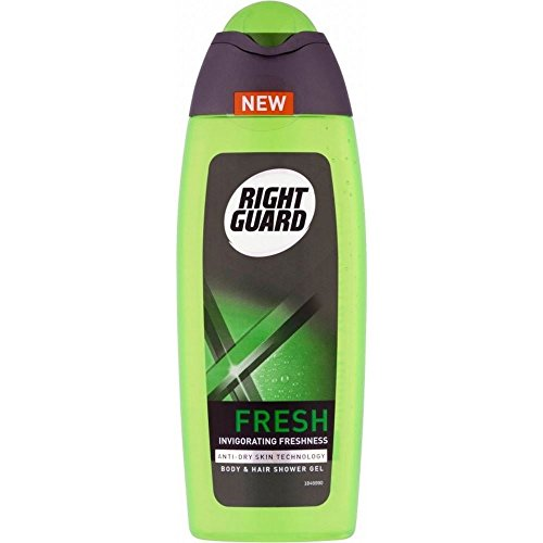 Gel Fresh Blast - Right Guard Shower Gel - Xtreme Fresh Blast (250ml) - Pack of 2