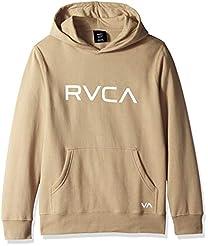 RVCA Boys Big Pullover Hooded Sweatshirt...