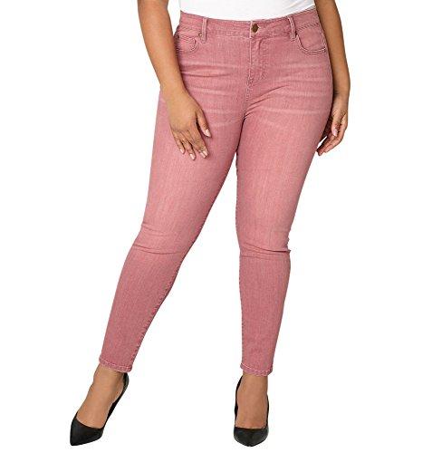 d Skinny Jean in Mauve, 14 Mauve (Avenue Skinny Jeans)