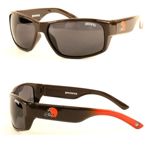 - NFL Team Chollo Style SPIKE Sunglasses - Unisex - 100% UV Protection (Cleveland Browns)