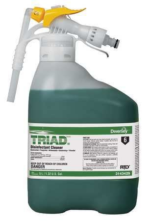 Triad III Disinfectant Cleaner, 5 L, Mint