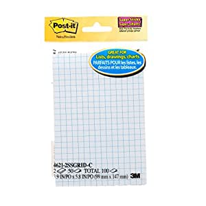 """Post-it Super Sticky Printed Notes, 4"""" x 6"""", 2 Pads/Pack"""