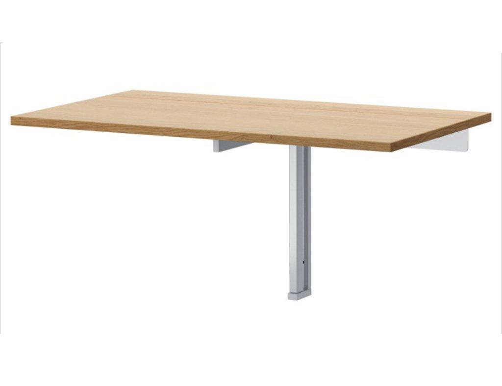 壁掛けテーブルライティングデスク90 * 50cm多機能の目に見えないダイニングテーブル折りたたみテーブル ( 色 : オーク ) B0796NB45D オーク オーク