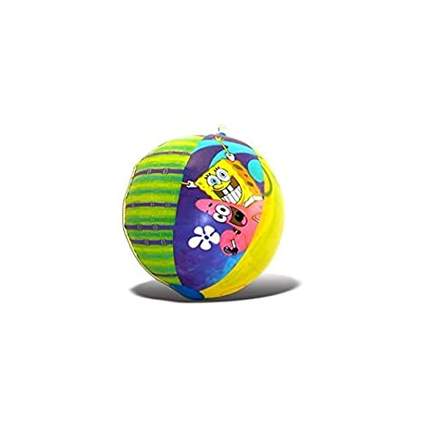 Amazon.com: Kids Party Favors Bob Esponja pelota hinchable ...