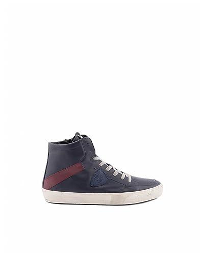 Herren Clluvt19 Blau Leder Sneakers Philippe Model Günstig Kaufen Erstaunlichen Preis EBINhIc