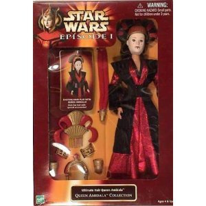 Star Wars Episode I Ultimate Hair Queen Amidala - Queen Amidala Collection (1998) - Queen Amidala Collection