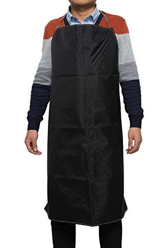 Promotional Apron (Joyutoy Black Kevlar Mesh Cut Resisrtant Bib Style Welding Apron Safety Apparel Work Aprons 39