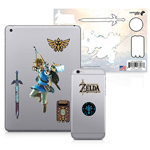 Controller Gear The Legend of Zelda: Breath of the Wild – Character Tech Decal Pack – Bow and Arrow – Nintendo Wii; GameCube
