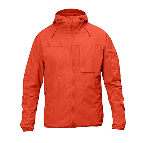 Fj¿llr¿ven Men's High Coast Wind Jacket Flame Orange Medium