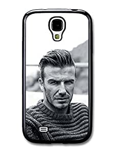 AMAF ? Accessories David Beckham Portrait Black & White case for Samsung Galaxy S4