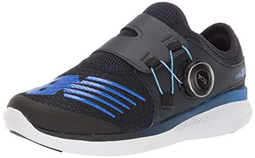 New Balance Boys' Reveal V1 Running Shoe, Eclipse/Vivid Cobalt, 4 M US Big Kid