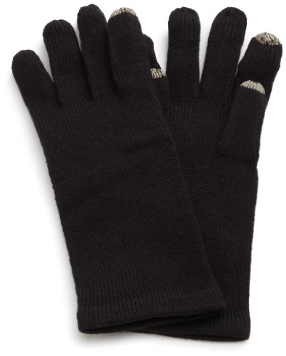 - Echo Women's Msoft Solid Touch Glove, Black, One Size