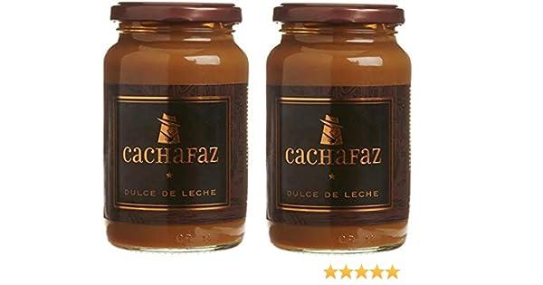Amazon.com : Cachafaz Dulce de Leche 450 gr. - 2 Pack/Milk Caramel Gluten Free 16oz. - 2 Pack : Grocery & Gourmet Food