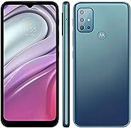 Celular Motorola Moto G20 Azul 64gb Tela 6.5 4gb Ram Camera 48mp 8mp 2mp 2mp