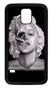 Marilyn Monroe Skull Samsung Galaxy S5 Case Cover