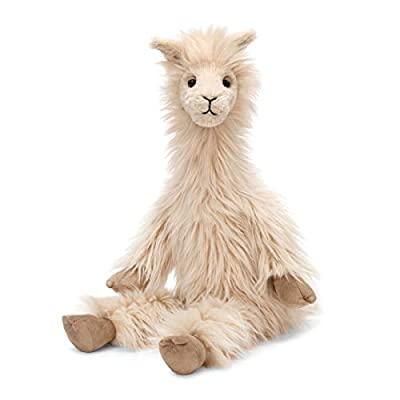 Jellycat Mad Pet Luis Llama Stuffed Animal, 18 inches: Toys & Games