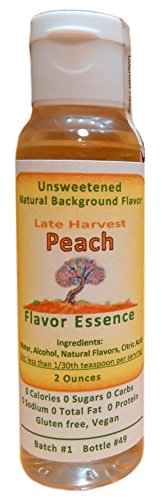 PEACH -Late-Harvest Style by Flavor Essence (Unsweetened Natural Background Flavoring) 2 Oz (Canned Baking Soda compare prices)