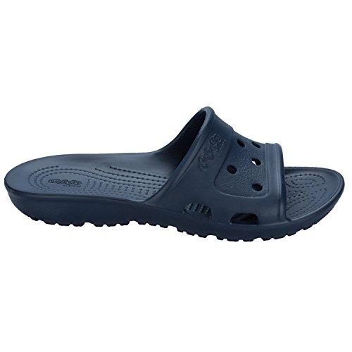 Crocs Vrouwen Dames Presley Slide Sandalen Blauw