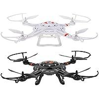Cx-32 Kameralı Otomatik Kalkış Yapan Drone Multikopter Siyah (Beyaz)