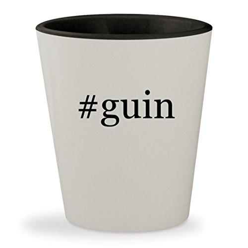 #guin - Hashtag White Outer & Black Inner Ceramic 1.5oz Shot - Lulu By Guinness Lulu Sunglasses