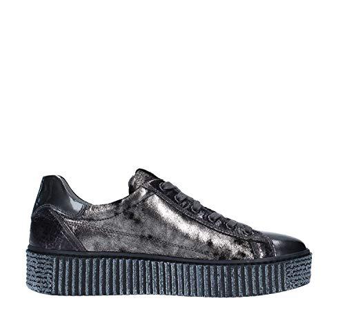 Giardini Cuero Zapatillas De Monet Nero Para Mujer Crack FqT8Txt