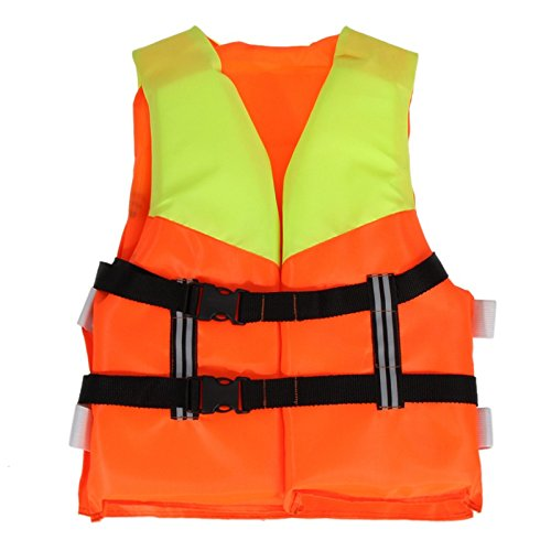 Youth Kids Professional Life Vest Universal Polyester Life Jacket Foam Flotation Child Swimming Boating Ski Vest Safety - Swag Outfits Bieber Justin