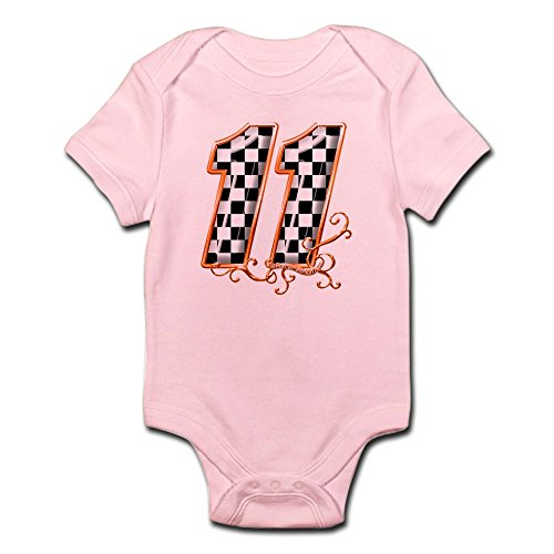 CafePress RaceFashion.com Infant Bodysuit - Cute Infant Bodysuit Baby - Fedex Onesie