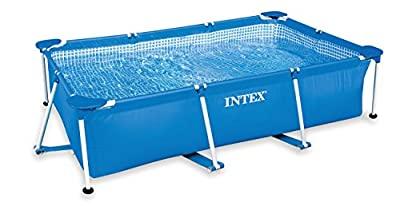 "Intex 86"" x 59"" x 23"" Rectangular Frame Above Ground Baby Splash Pool 