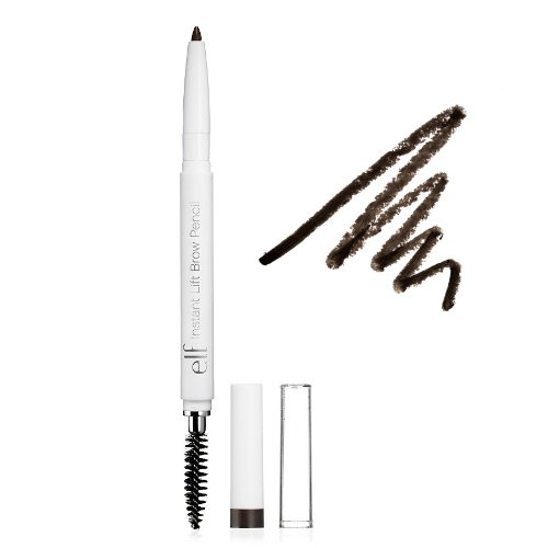 (3 Pack) e.l.f. Essential Instant Lift Brow Pencil - Deep Brown