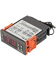 JZK ITC-1000 220V Refrigeración y Calefacción Termostato Digital con sonda para Incubadora Agua Temperatura Control Cocina Enfriador Industrial Caldera Frigorifico